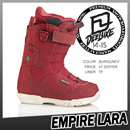 EMPIRE LARA/BURGUNDY