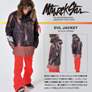 EVL JACKET/BLACK DENIM