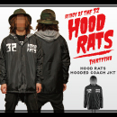 HOOD RATS HOODED COACH JACKET