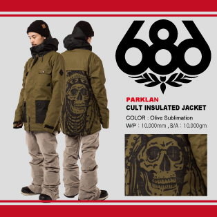 CULT INSULATED JACKET画像