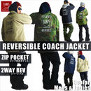 REVERSIBLE 2WAY COACH JACKET/SQ