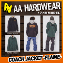 COACH JACKET/FLAME
