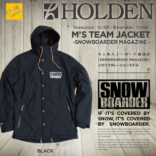 TEAM JACKET/SNOWBOARDER MAGAZINE画像