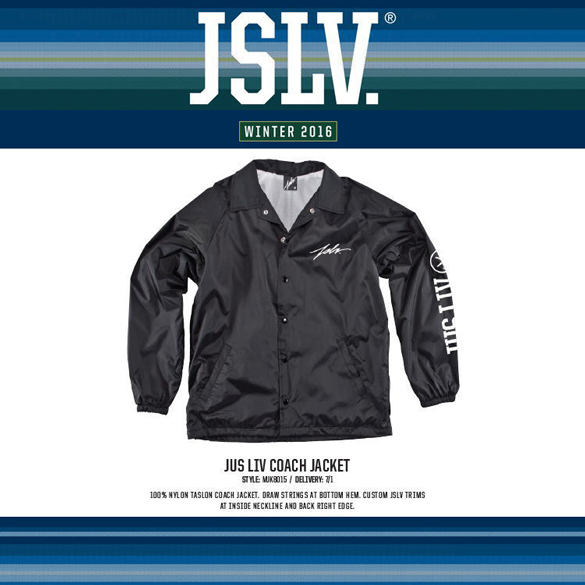 JUST LIV COACH JACKETの商品画像