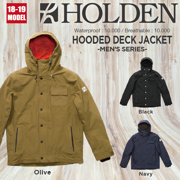 M's HOODED DECK JACKET [Type A]