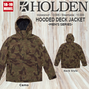 M's HOODED DECK JACKET画像