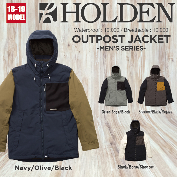 M's OUTPOST JACKET