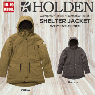W's SHELTER JACKET画像