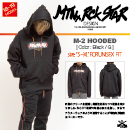 M-2 HOODED/Black/G