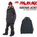 HARUMAKI JACKET/Anthracite/3LAYER